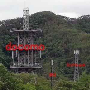 docomoの中継基地